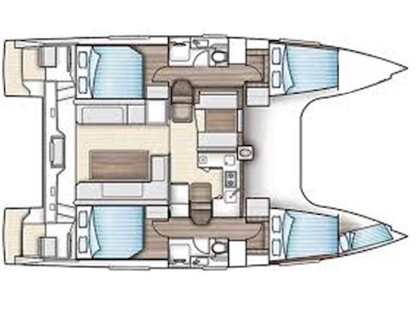 Nautitech Open 40 (Enteara) Plan image - 29
