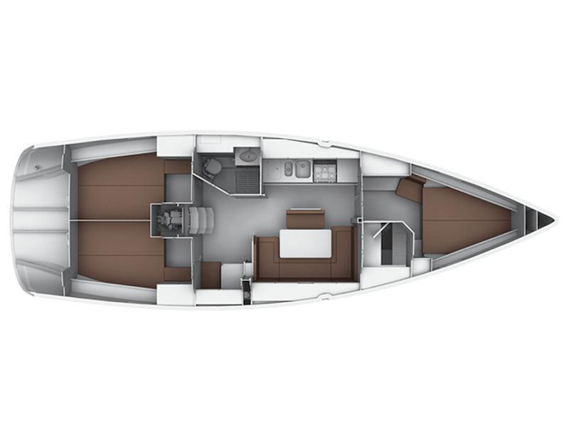 Bavaria  Cruiser 40 (Capitana II) Plan image - 3