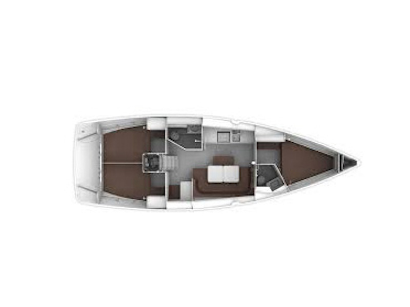 Bavaria Cruiser 41 (Ipanema) Plan image - 23