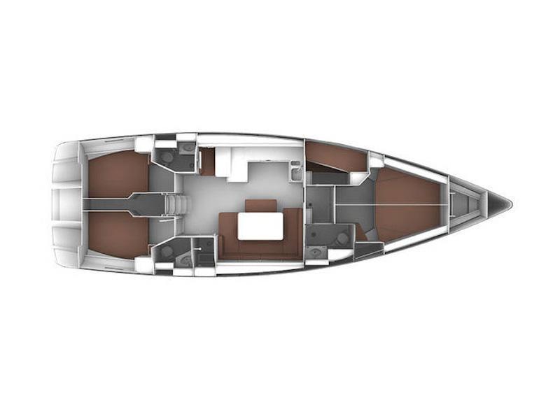Bavaria  Cruiser 51 (Tabarka) Plan image - 9