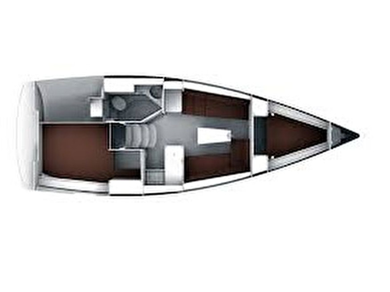 Bavaria Cruiser 34 Style (Lena) Plan image - 1