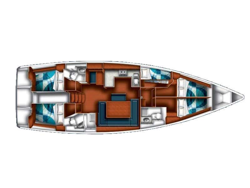 BAVARIA C 50 BT (SIRENA) Plan image - 9