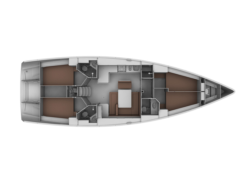 Bavaria 45 Cruiser (Akilina) Plan image - 6