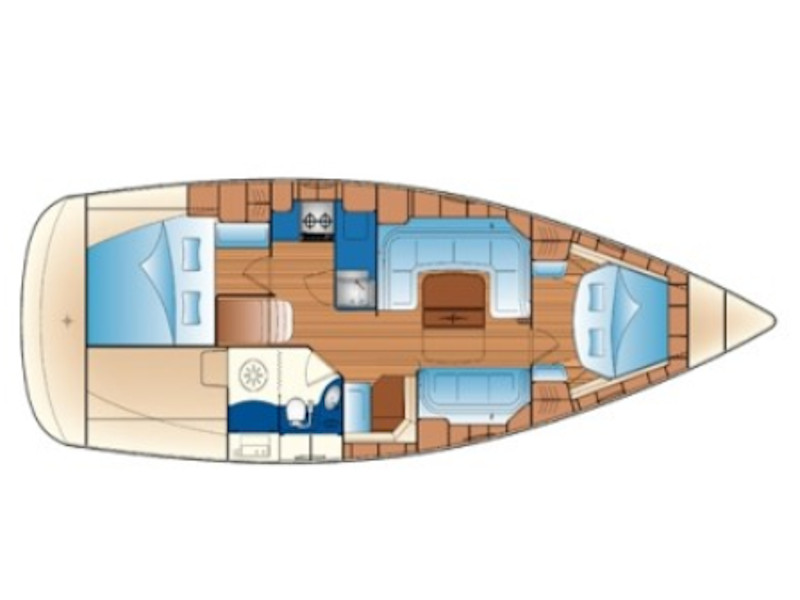 Bavaria 33 (Sea Sail 1) Plan image - 2