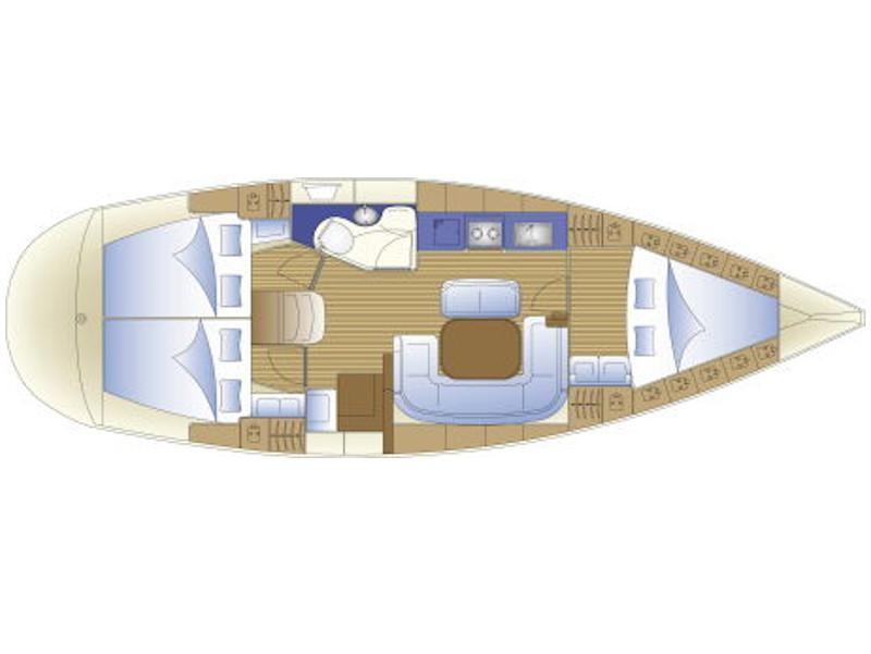 Bavaria 37 (Alexandros 3) Plan image - 2