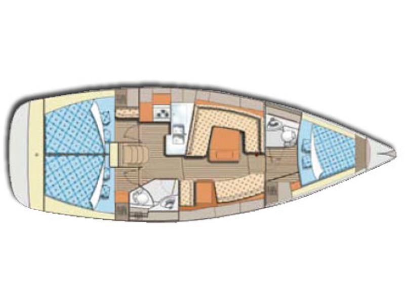Elan 384 (Ageras) Plan image - 1