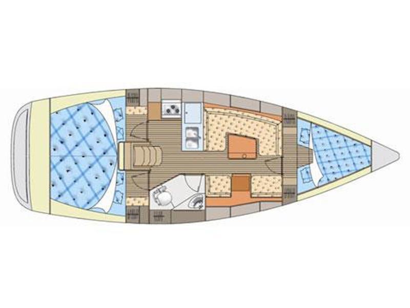 Elan 344 (Argo) Plan image - 1
