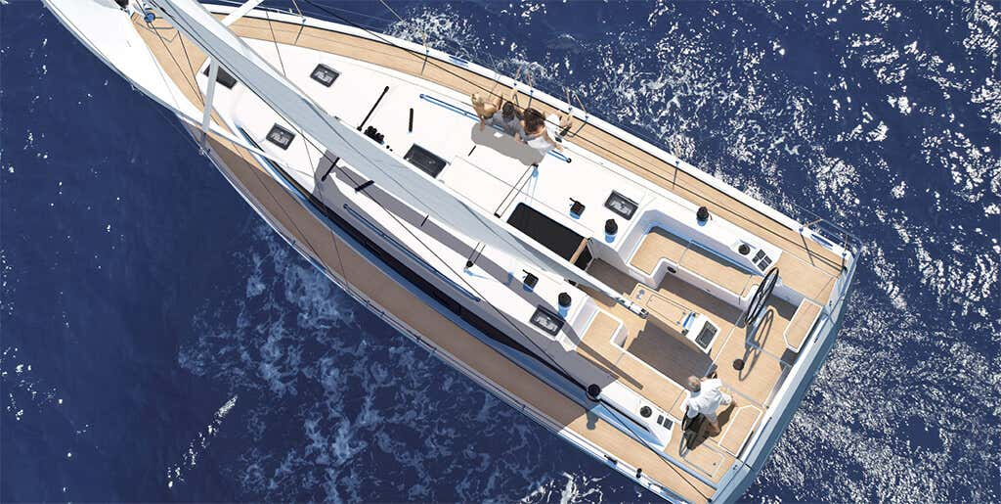 Bavaria C42 (Karpouzi | A/C, Bowth, Full teak deck)  - 9