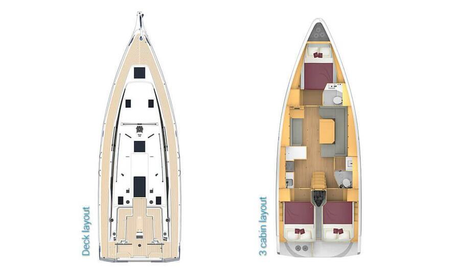 Bavaria C42 (Karpouzi | A/C, Bowth, Full teak deck)  - 5