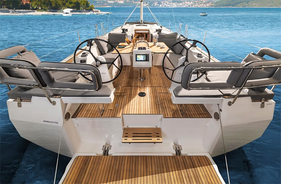Bavaria C42 (Karpouzi | A/C, Bowth, Full teak deck)  - 4