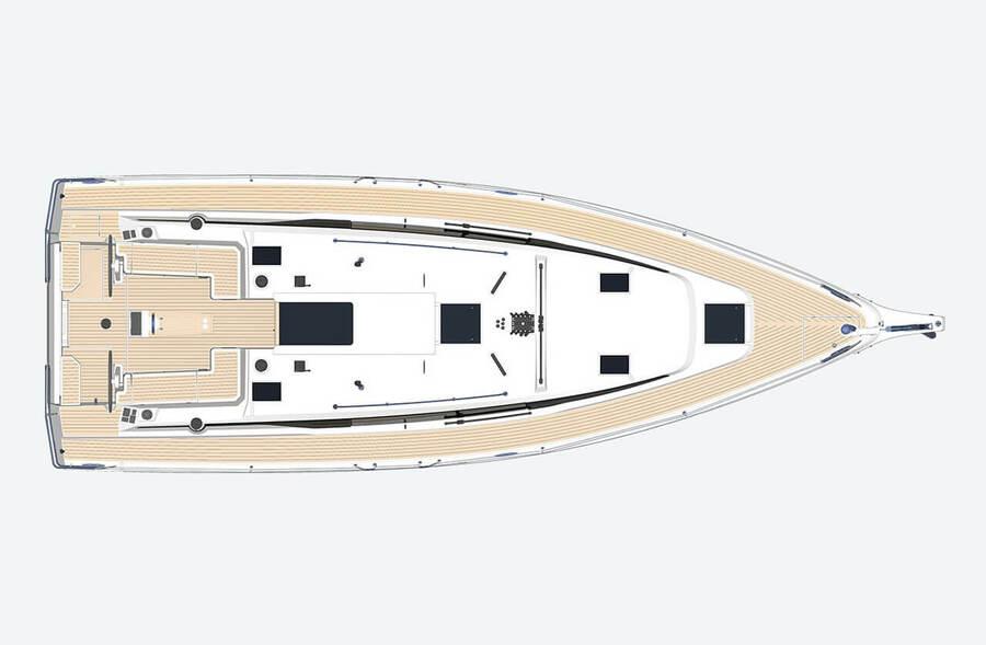 Bavaria C42 (Karpouzi | A/C, Bowth, Full teak deck)  - 3