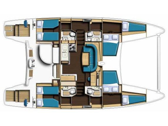 Catana 47 Carbon (Xenia II) Plan image - 11
