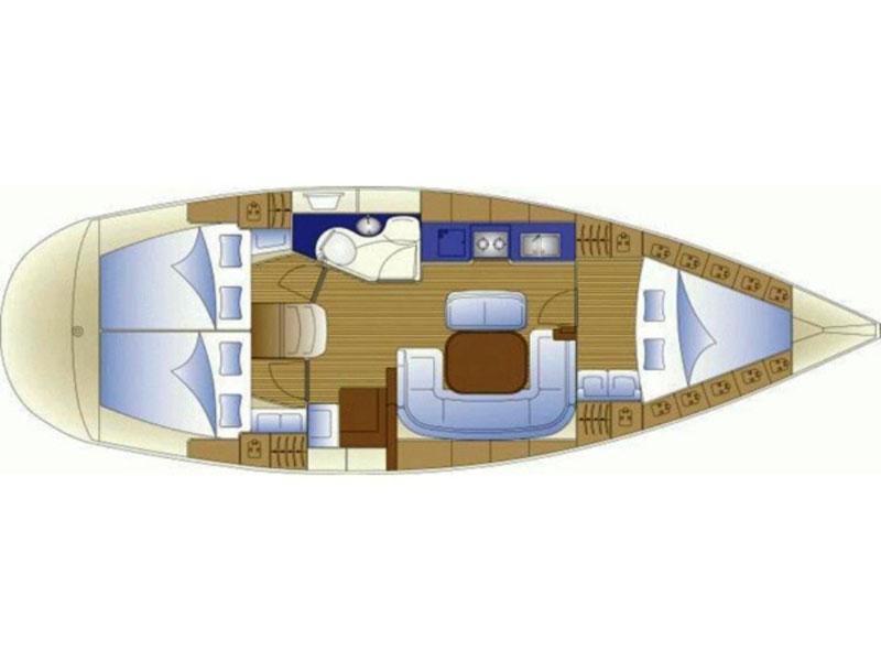 Bavaria 38 (B38-05) Plan image - 4
