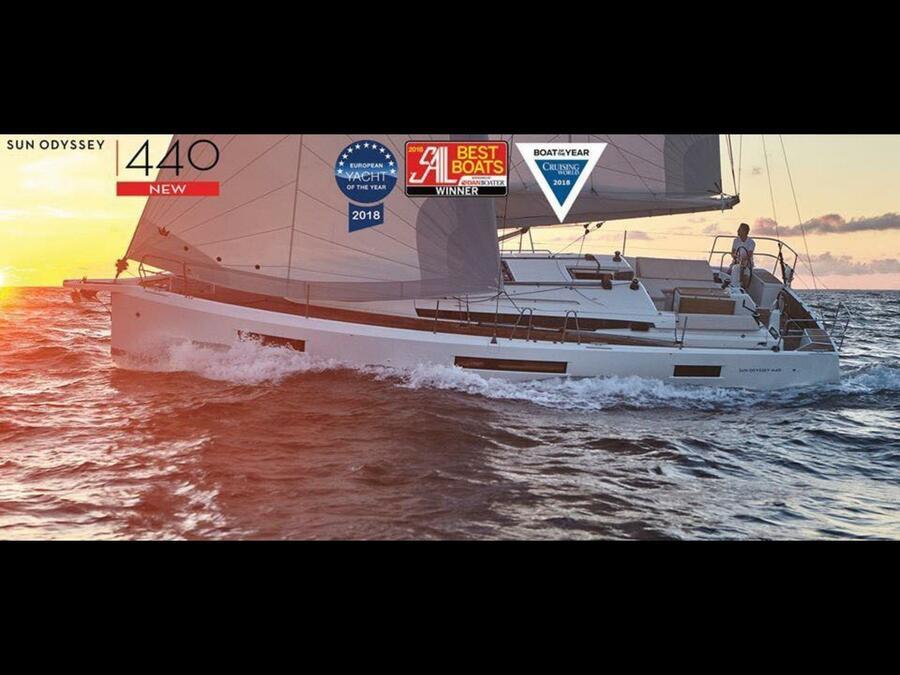 Sun Odyssey 440 (Ella Victoria)  - 35
