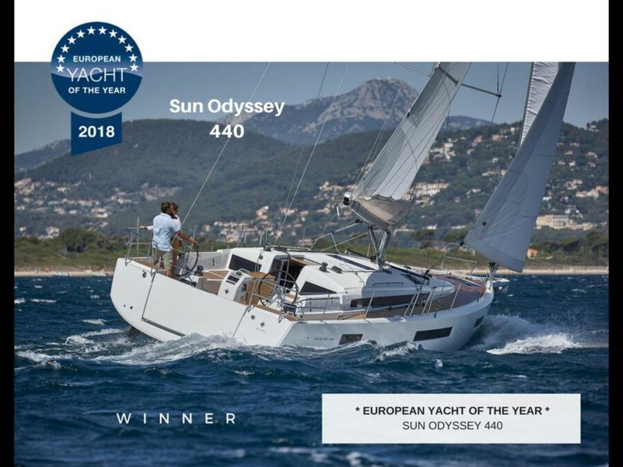 Sun Odyssey 440 (Ella Victoria)  - 2