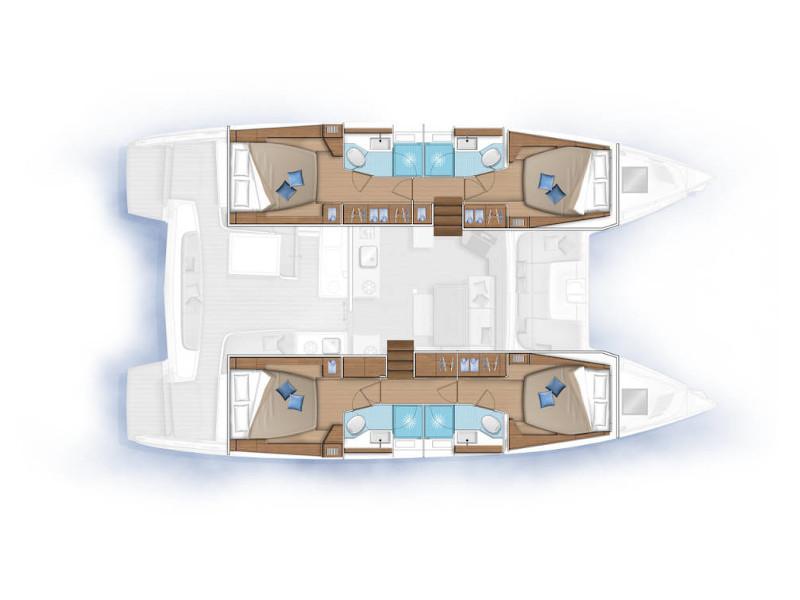 Lagoon 46 (ALICE) Plan image - 42