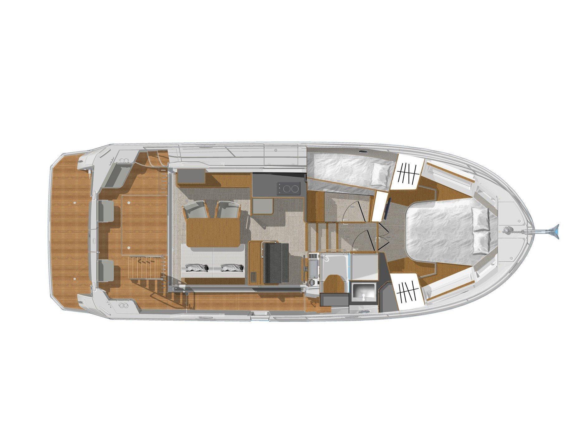 Swift Trawler 35 (Moritz ) Plan image - 1