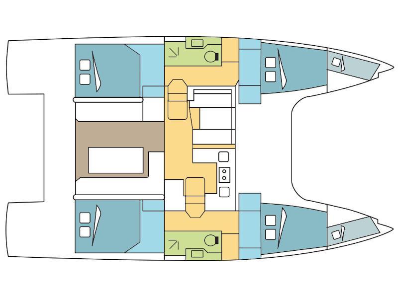 Nautitech Open 40 (Sea Garden) Plan image - 9
