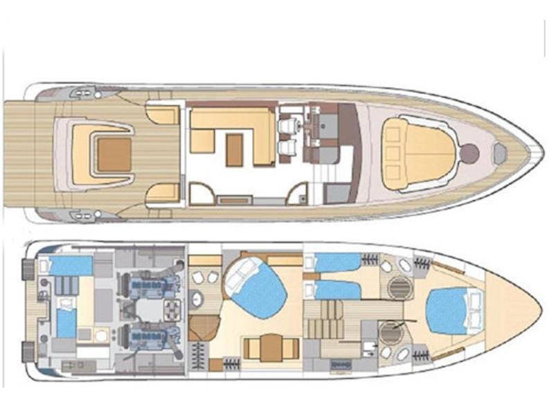 Azimut 62 S (Venecia) Plan image - 11