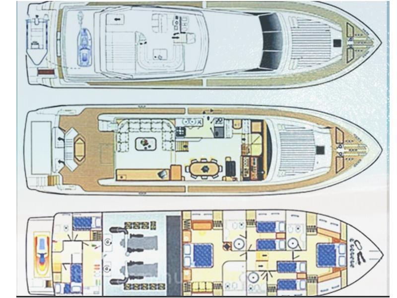 Ferretti 225 (Vento) Plan image - 5