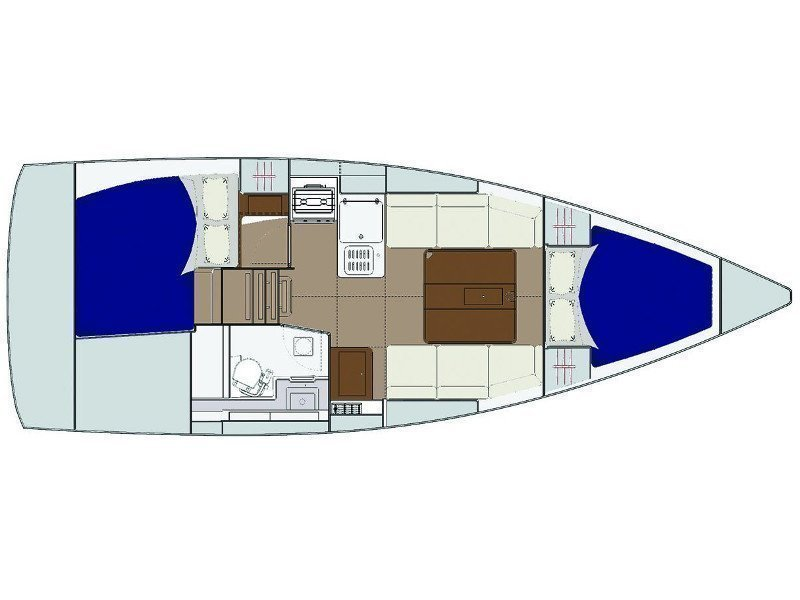Dufour 310 Grand Large (MIO 2018) Plan image - 6