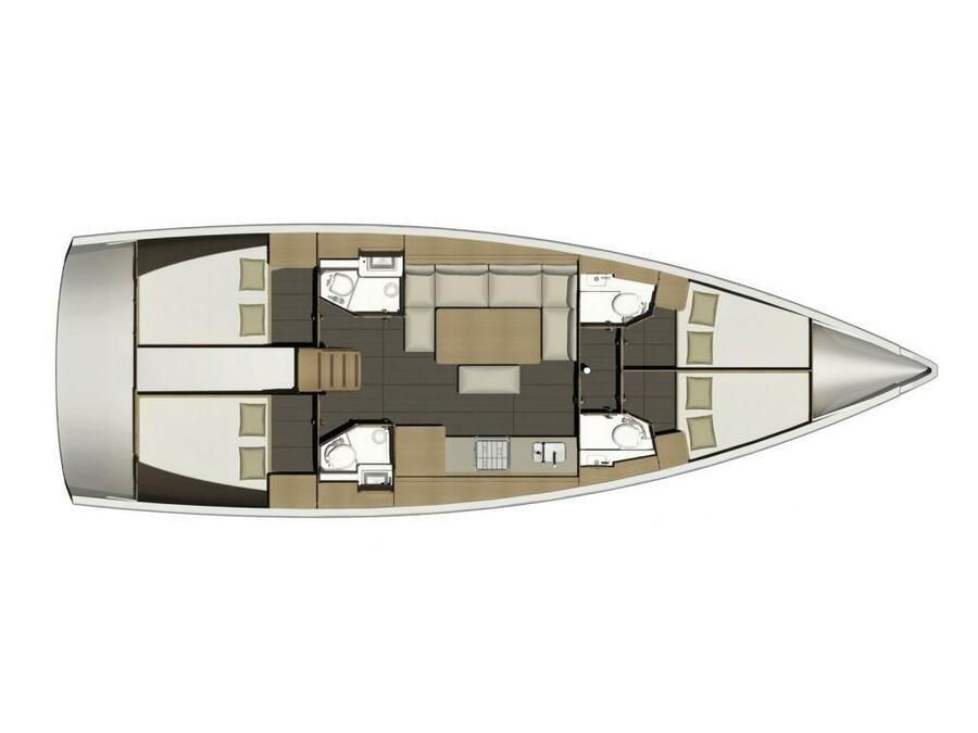 Dufour 460 Grand Large (Mayflower) Plan image - 19