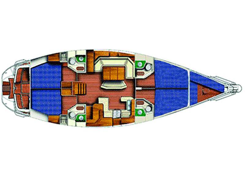 Sun Odyssey 52.2 (Mizar) Plan image - 5