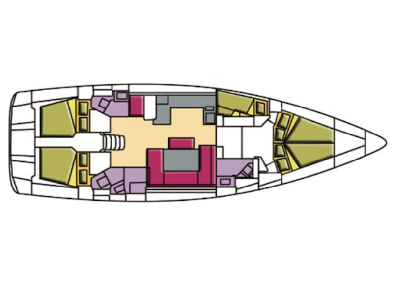 Bavaria 51 Cruiser (Rutilicus) Plan image - 1