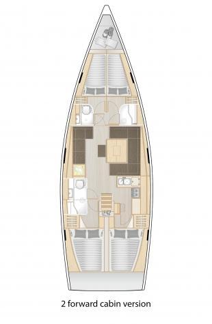 Hanse 458 (Nimbus)  - 9