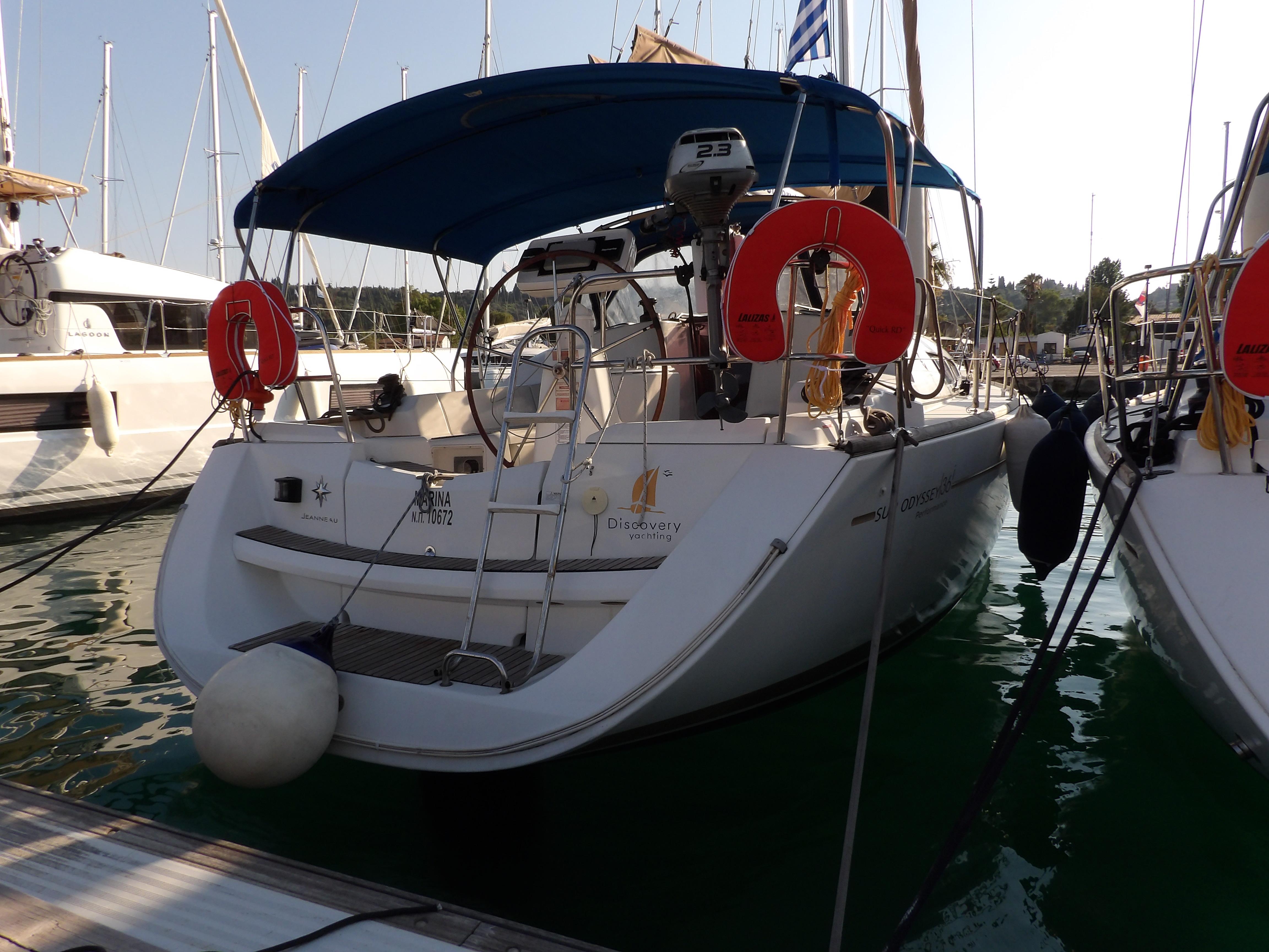 Sun Odyssey 36i (Marina) Main image - 0