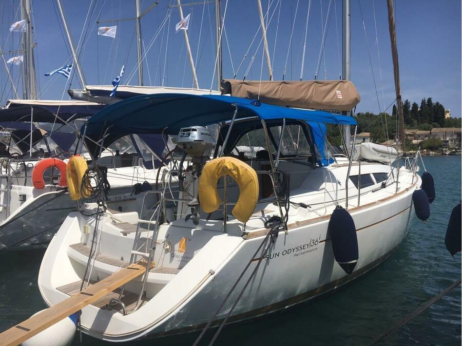 Sun Odyssey 36i (Marina)  - 5