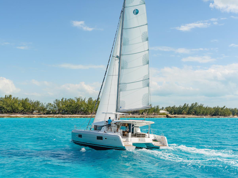 Lagoon 42 (BLUE STEEL (generator, air condition, water maker))  - 3