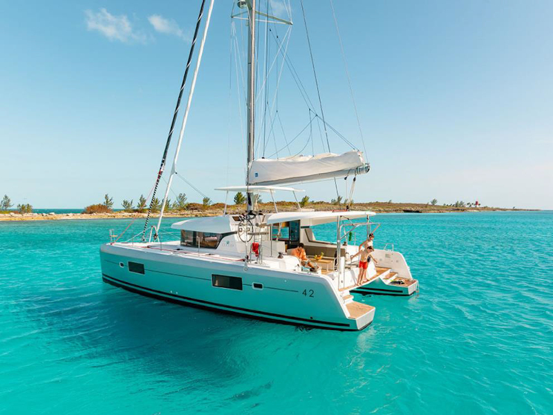Lagoon 42 (BLUE STEEL (generator, air condition, water maker))  - 4