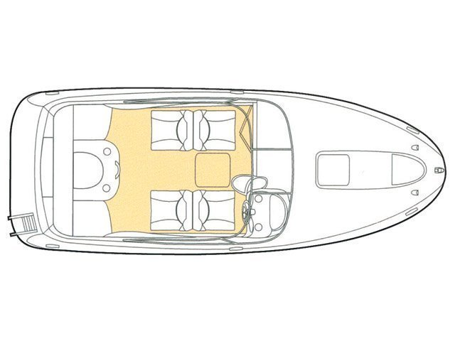 Glastron GS 219 (Arch II-II) Plan image - 1