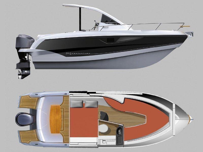 Salpa 24 GT (GT II) Plan image - 1