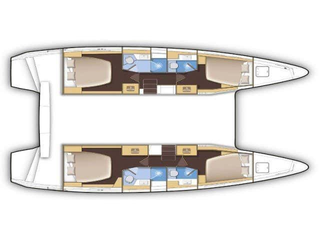 Lagoon 42 (Dream of Life) Plan image - 4
