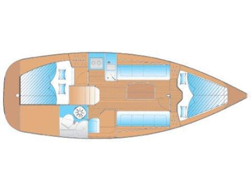 Bavaria 30 (ANA) Plan image - 6