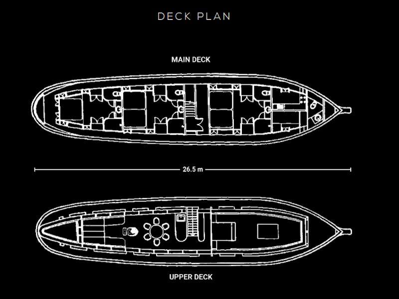 Wooden motor yacht (Maha Bhetra) Plan image - 2