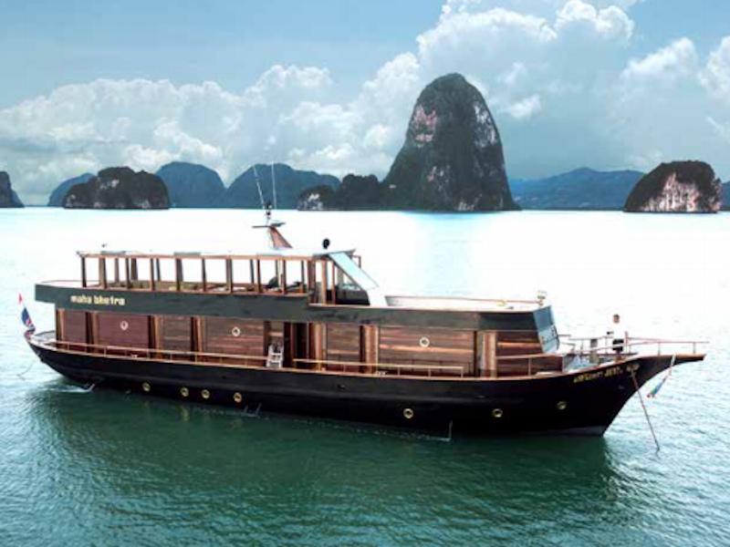 Wooden motor yacht (Maha Bhetra)  - 1
