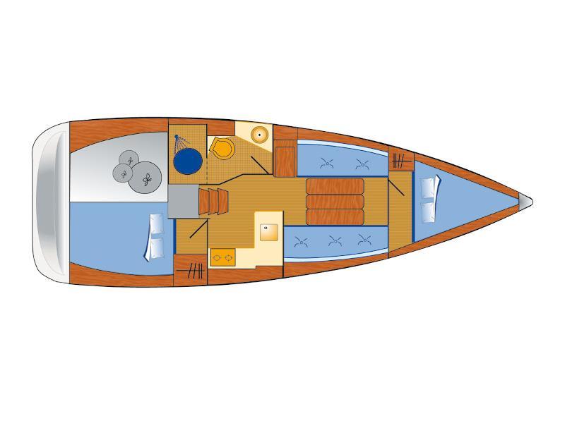 Sun Odyssey 349 (Antonija) Plan image - 5