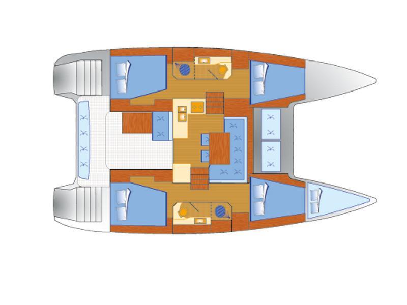 Lagoon 40 (Balance 69) Plan image - 2