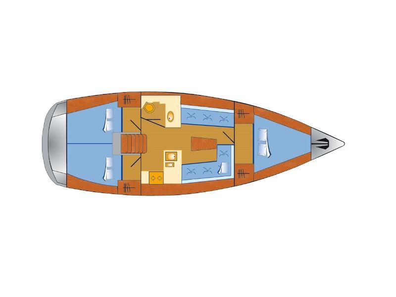 Bavaria Cruiser 37 (Bibi) Plan image - 1