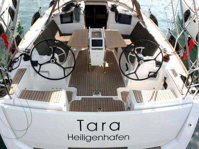 Sun Odyssey 389 - 2 cab (Tara)  - 5