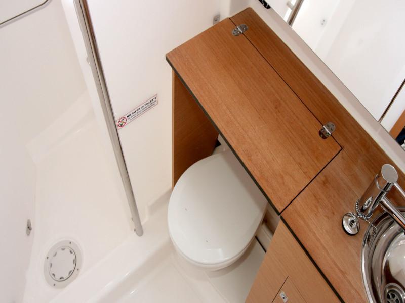 Dufour 382 Grand Large - 2 cab (Lia) Inside toilets - 2