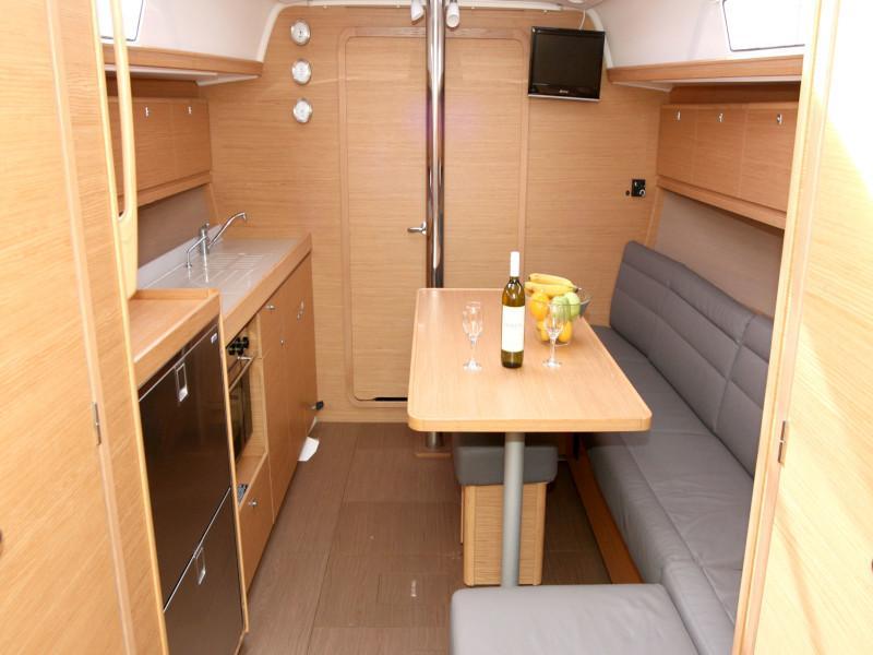 Dufour 382 Grand Large - 2 cab (Lia) Inside saloon - 16