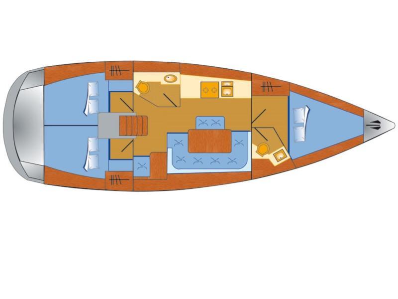 Bavaria Cruiser 41 (Flipper) Plan image - 18