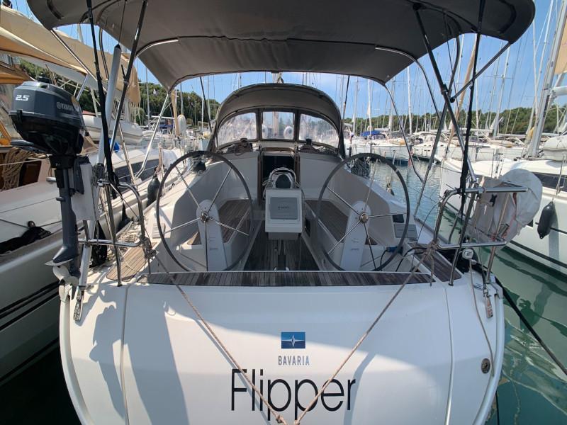 Bavaria Cruiser 41 (Flipper) Heck - 7