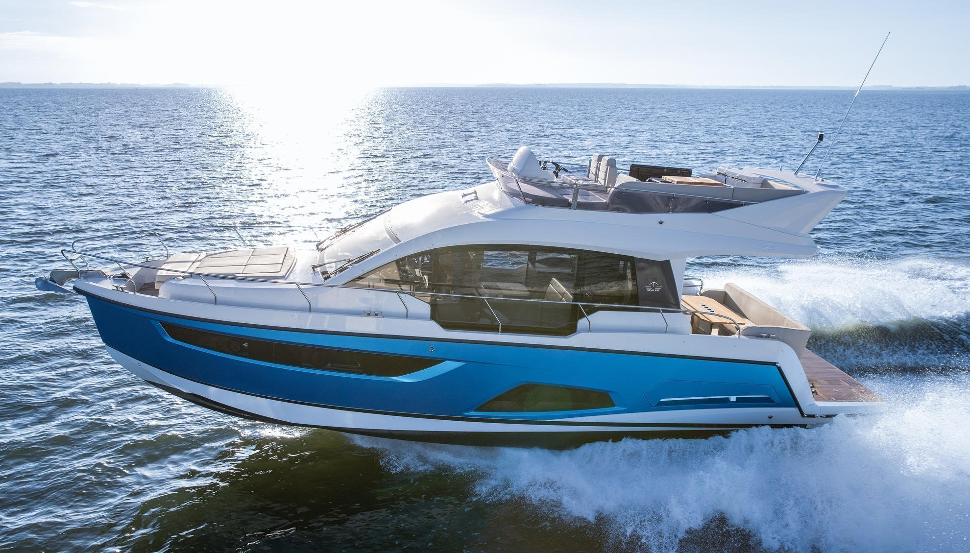 Sealine F430 (BLUE LAGOON)  - 18