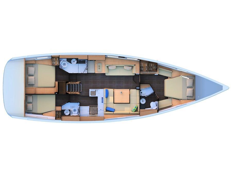 Jeanneau 51 (Selinim) Plan image - 22