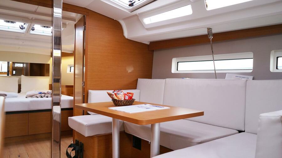 Sun Odyssey 440 - 3 Cabins (White Marlin)  - 24